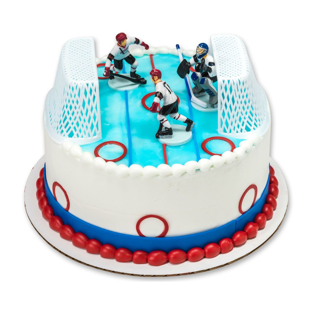 Cake Topper Hockey 5pc Party Supplies Canada Open A Party Novi