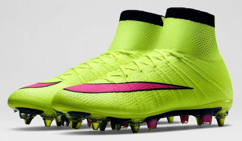 reputable site a0a9e 54703 Nike Mercurial Superfly FG Green Pink