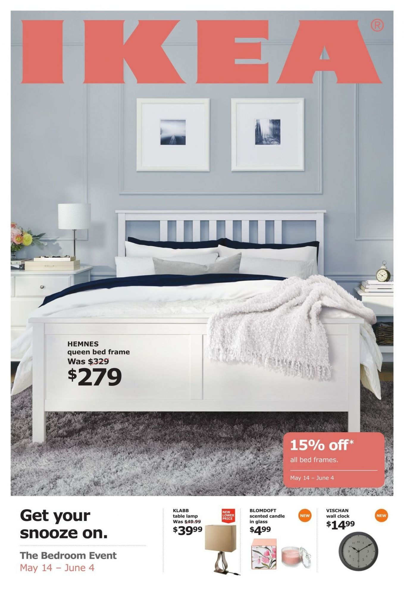 Flyer Ikea Bedframe Event Canada - from Monday May 13, 13 to