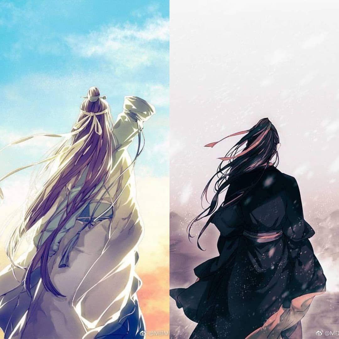 Modaozushi 魔道祖师 藍忘機x魏無羨 墨香銅臭 Anime Art Anime Guys