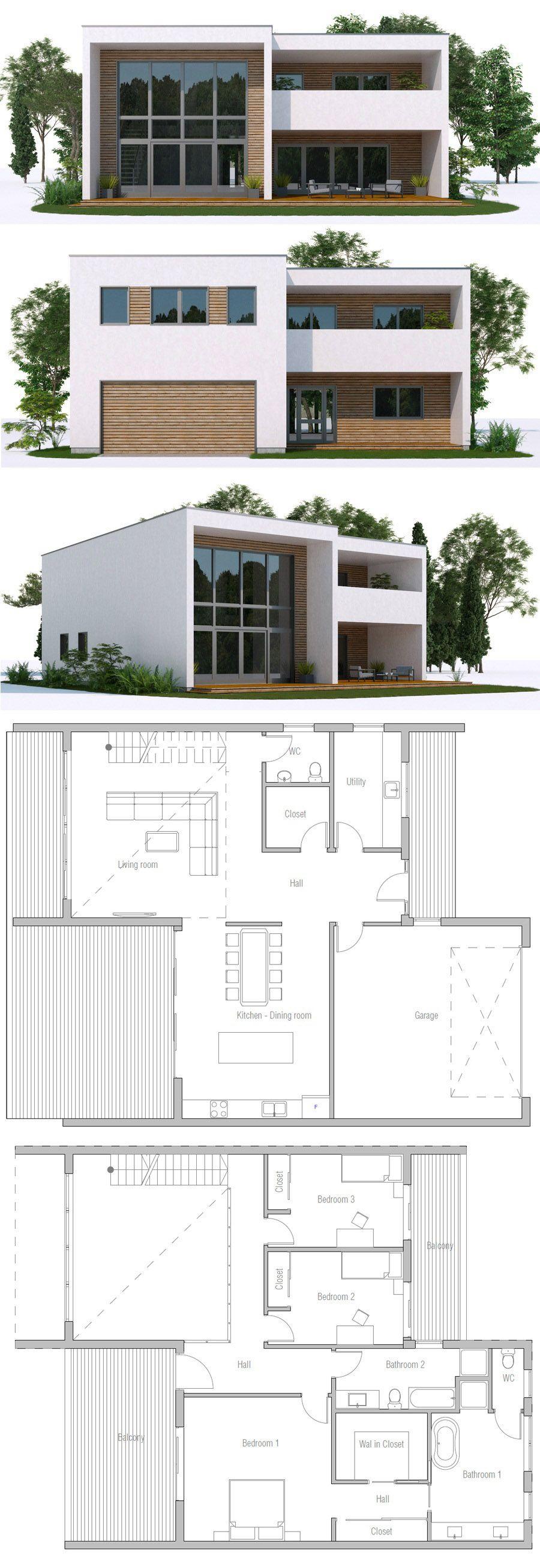 House designs | Revit | Pinterest | House, Balconies and Architecture