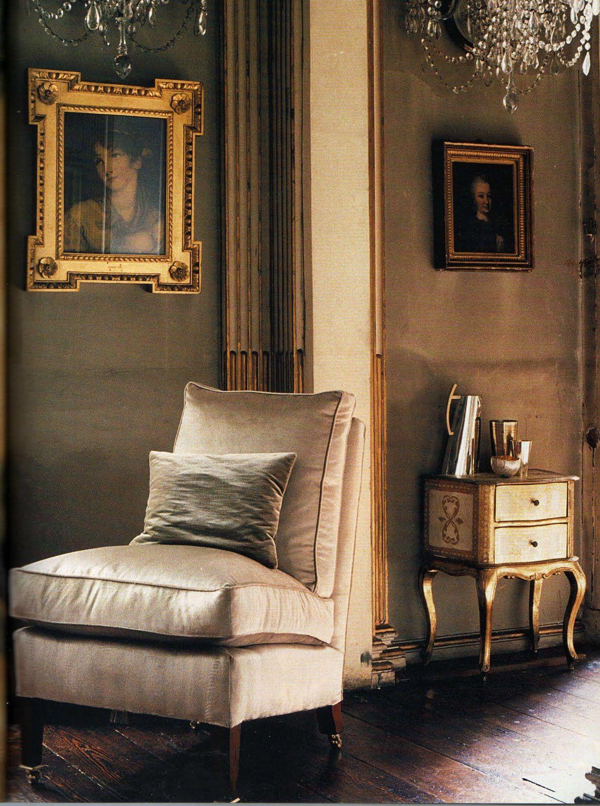 Interior home decorating ideas living room home decorating ideas  gray decorating gilded frame french