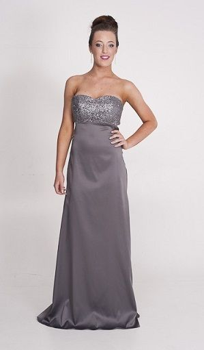 silver beaded … | Ball Dresses Perth, Ball Gowns, Prom & Bridesmaid ...