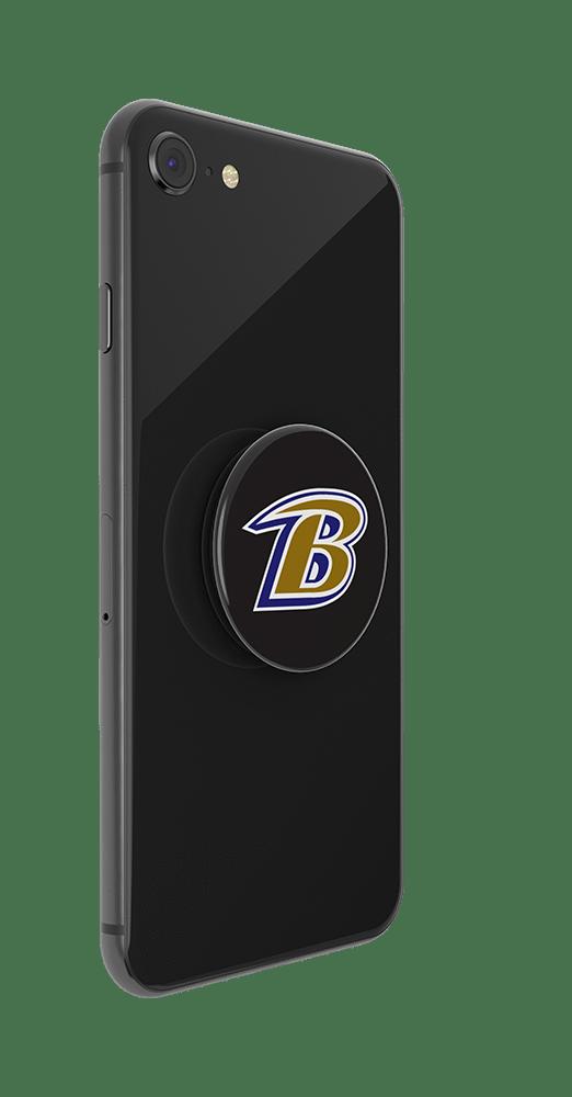 PopSockets Baltimore Ravens Logo Phone Grip In Black
