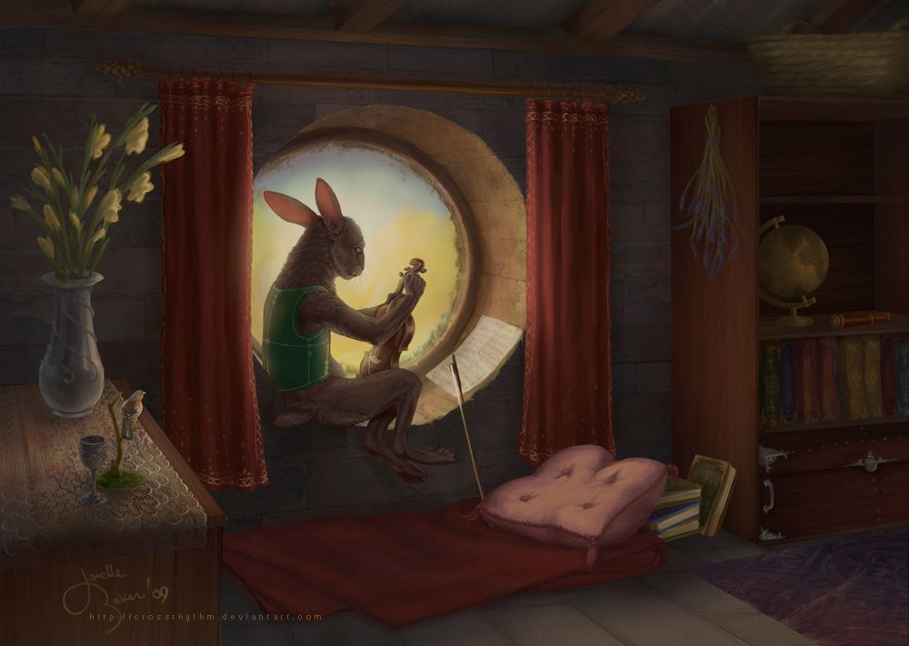 A Small Comfort by ~crossrhythm on deviantART