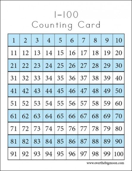 Counting Cards Printables Counting Cards Printable Flash Cards Rote Counting