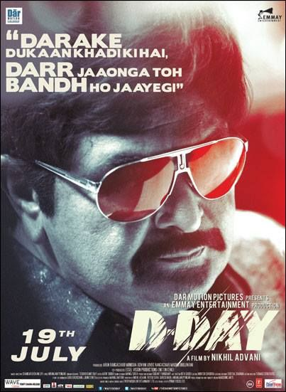 Dday  Bollywood Movie Posters | Indian movies and actors! | Movie