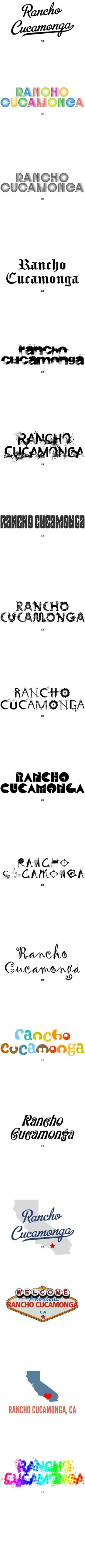 Rancho Cucamonga CA T Shirt MAP Hometown Souvenir by GreatCitees