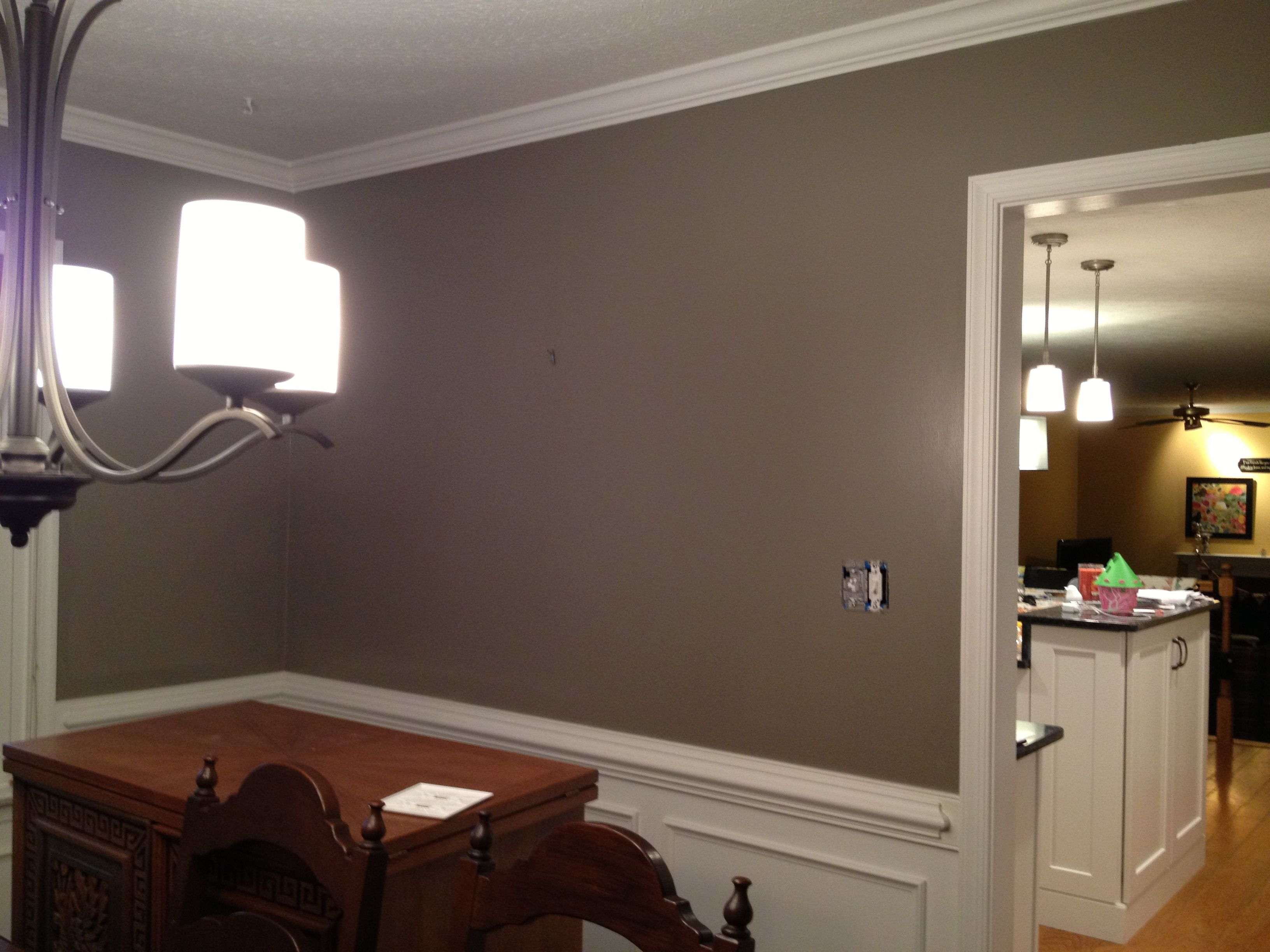 Martha Stewart Bedroom Paint Colors Gray Squirrel By Martha Stewart In My Dining Room Love It