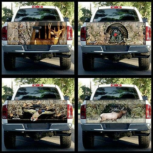 Realtree Wildlife Tailgate Graphics Country Girl