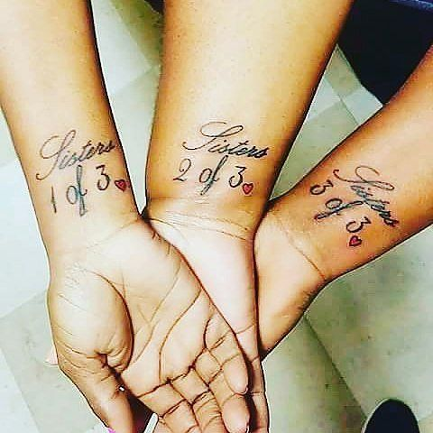 54 Sister Tattoos That Prove She\'s Your Best Friend in the World ...