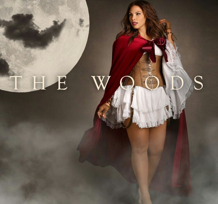 4948c1a64 Sexy plus size Little Red Riding Hood Costume.... Halloween costume for  plus size vixens that want something different