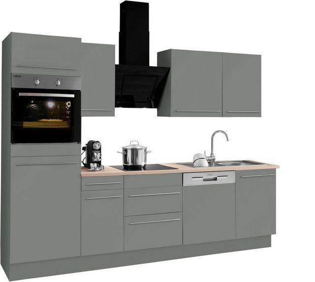 Küchenzeile »Bern«, mit E-Geräten, Breite 270 cm in 2020 ...