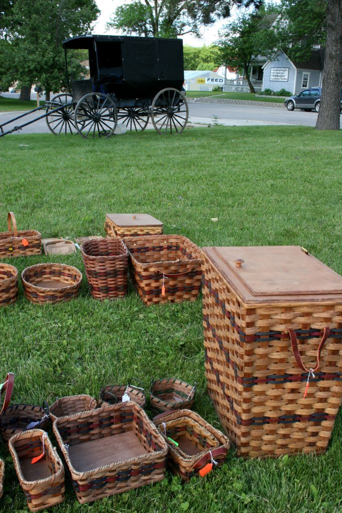 Amish baskets ~ Sarah's Country Kitchen ~