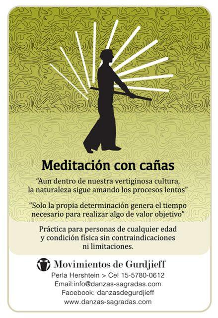 MAGNOLIAS en FLOR: Actividades-Perla Hershtein-Meditacion con cañas.