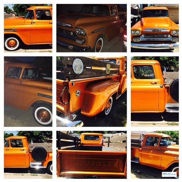 1959 Cevy Apache Pickup Truck Great Condition Mechanically Cosmetically For Sale In Sacramento Ca Offerup Pickup Trucks Trucks Apache