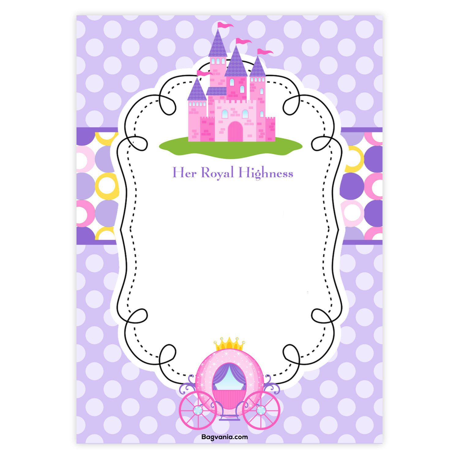 Download FREE Princess Birthday Invitations | FREE Printable ...