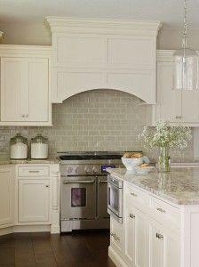 Off White Kitchen Backsplash Tiles This Neutral Tile Works