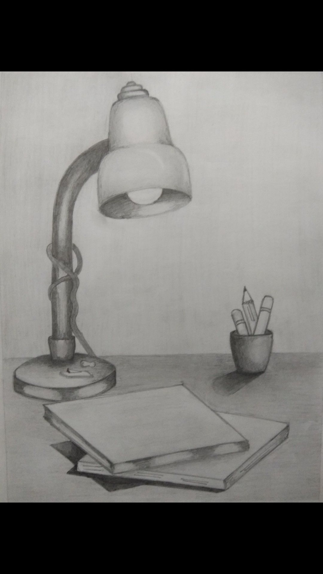 Sketch Study Lamps City Drawing Graphite Drawings