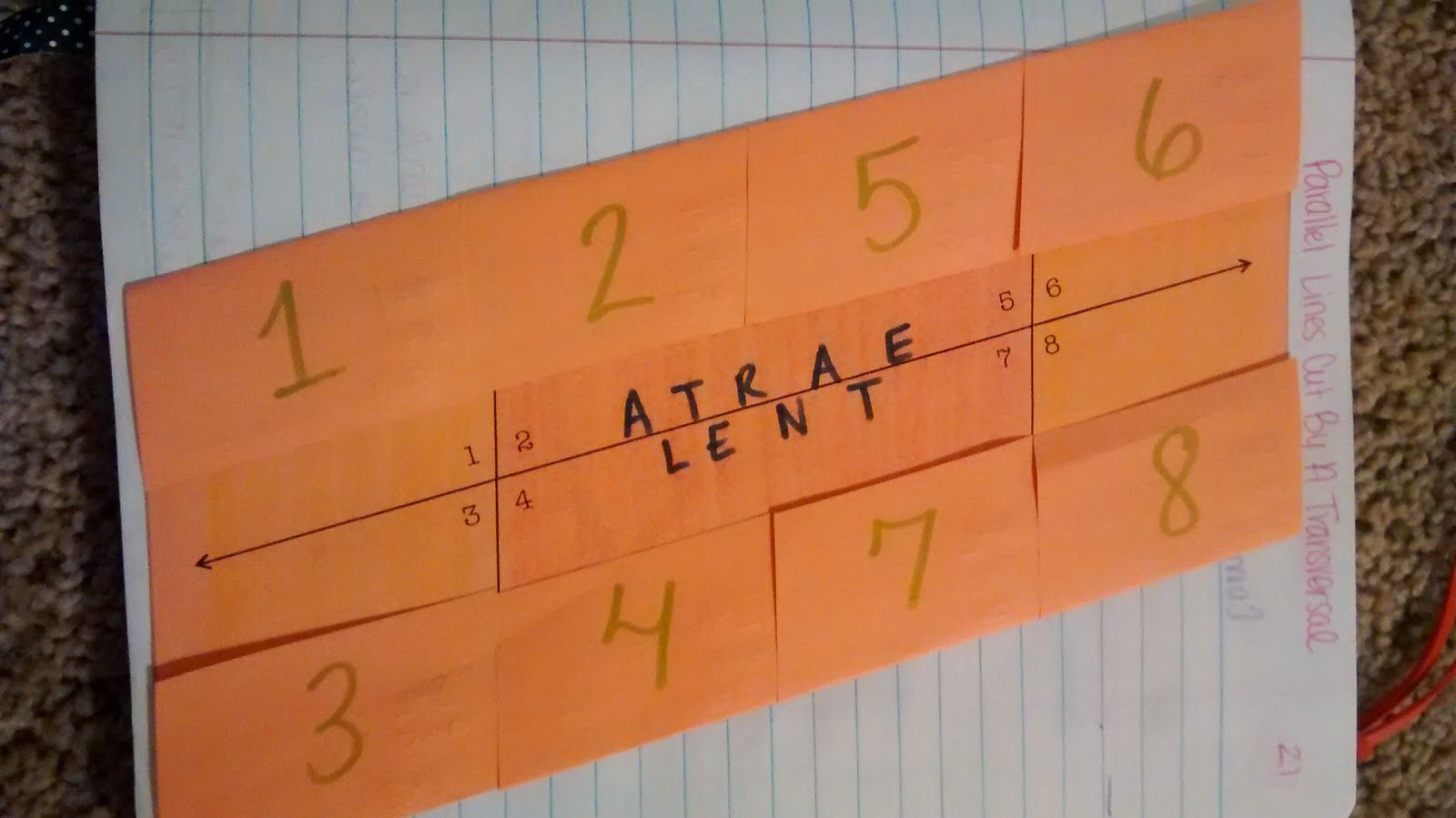 Trig Interactive Notebook Pages For Unit 1 Algebra And