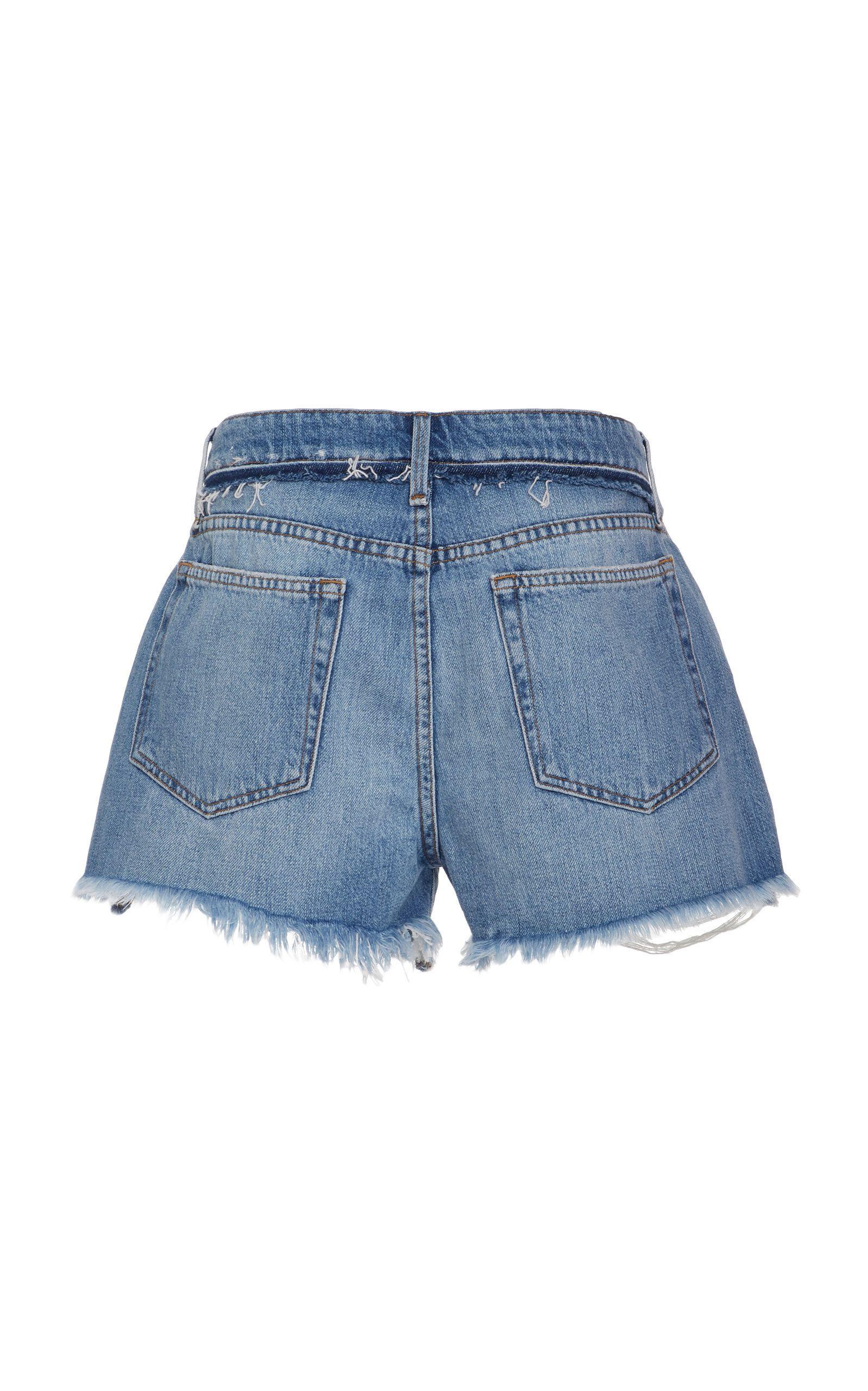 e7c09ce369 Le Grand Garcon Short   S.W. DENIM   Frame denim, Denim, Denim shorts