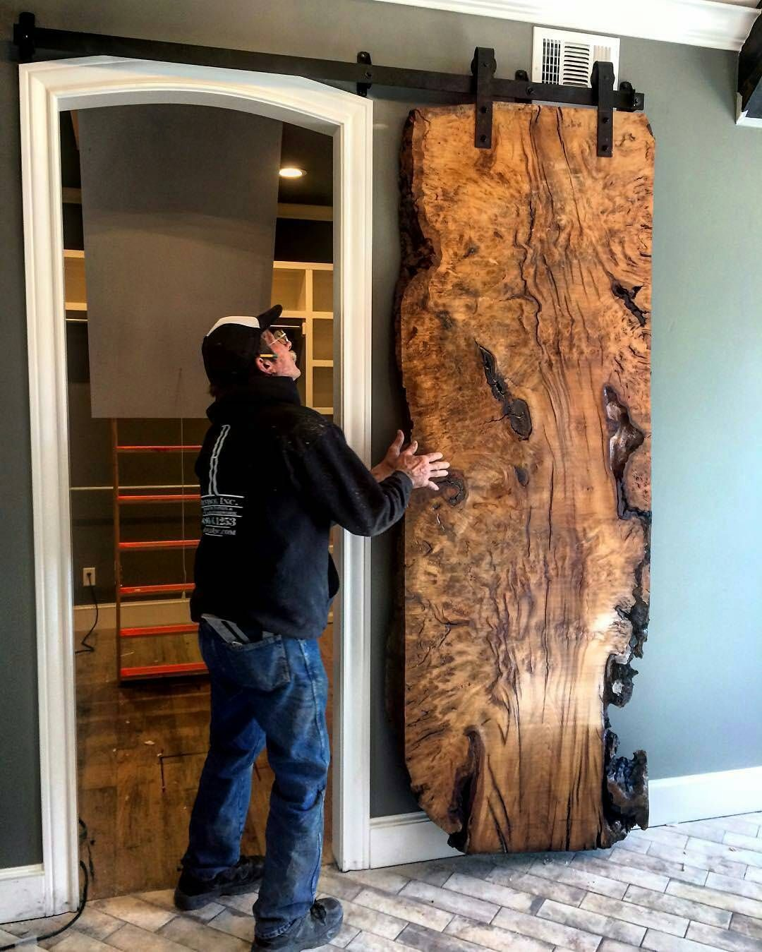 This Is A Really Cool Sliding Door!