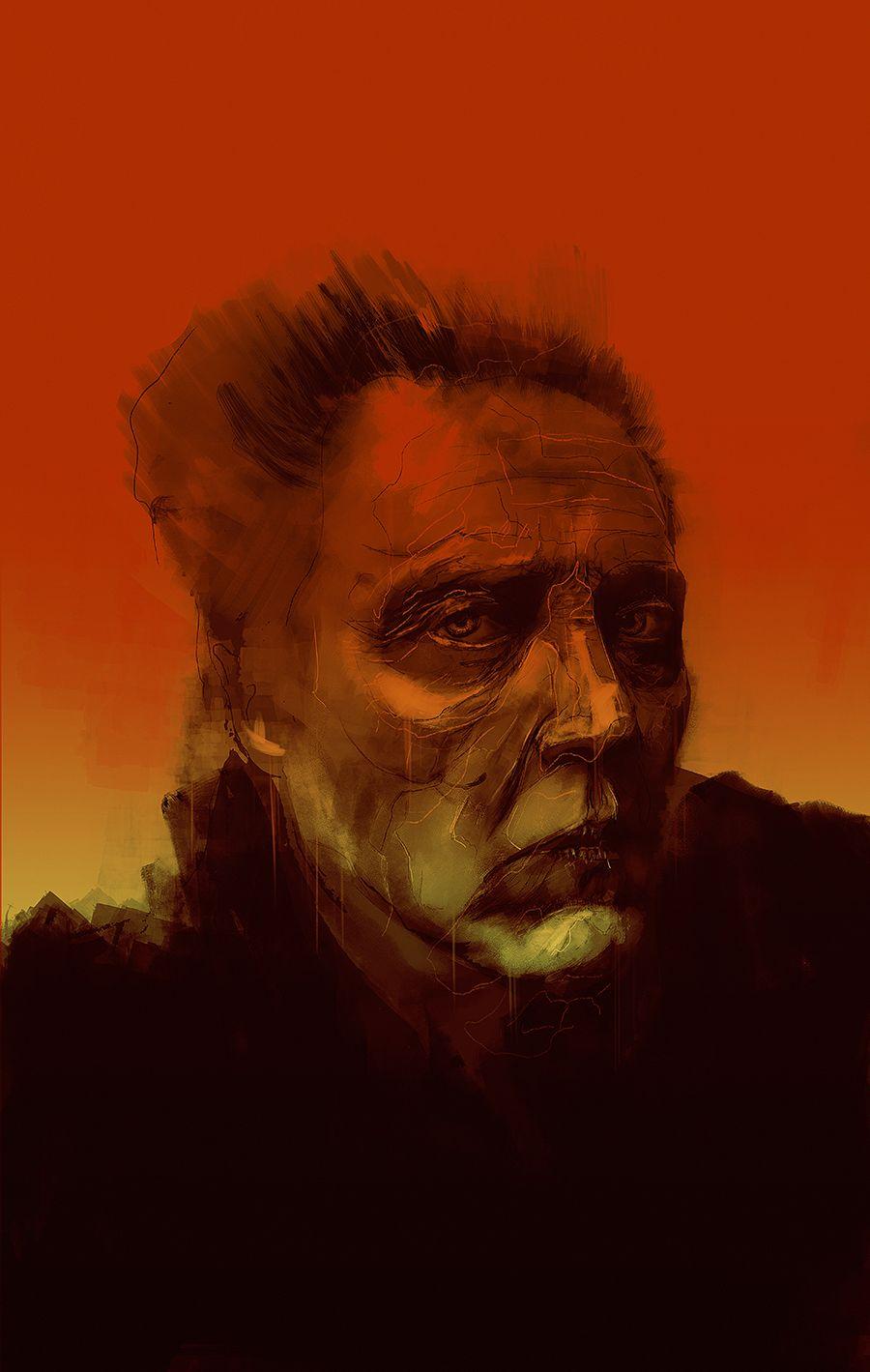 Christopher Walken by Rafal Rola