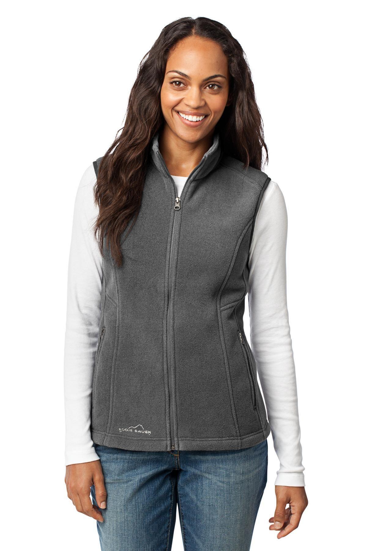 d22dc164919 Eddie Bauer - Ladies Fleece Vest EB205 Grey Steel in 2018