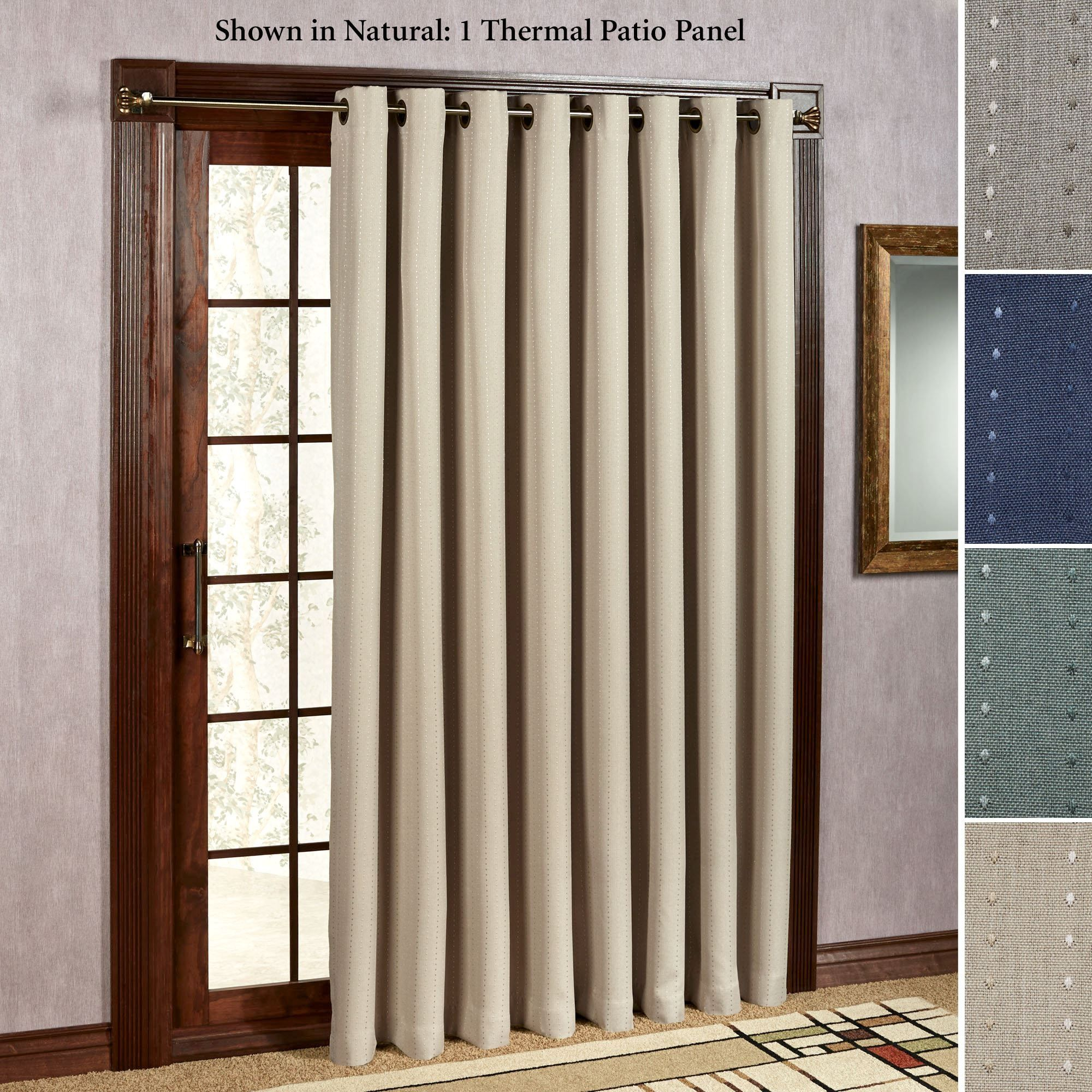 Sliding glass door drapes with grommets glass doors pinterest