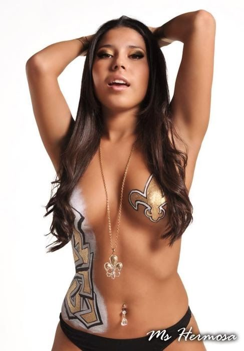 New Jersey Body Painting Body Paint Body Painting Saints Nfl