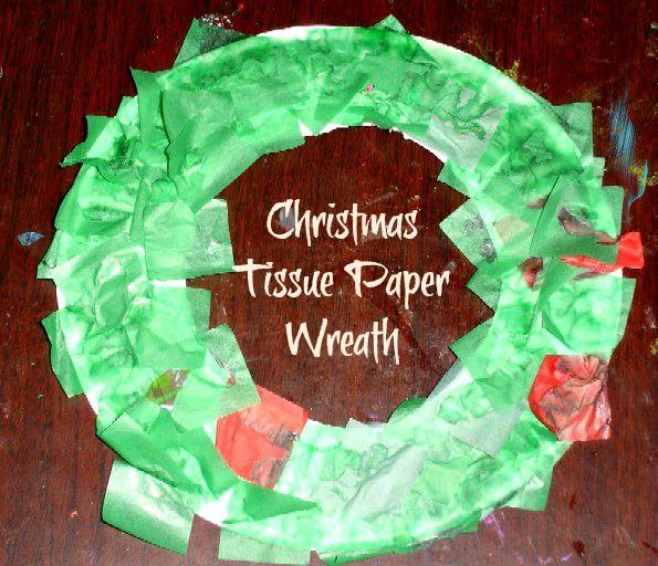 Best 25 Tissue Paper Wreaths Ideas On Pinterest Tissue