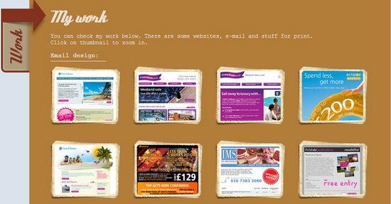 His website is... Website Design Portfolio Examples ... | Portfolio ...