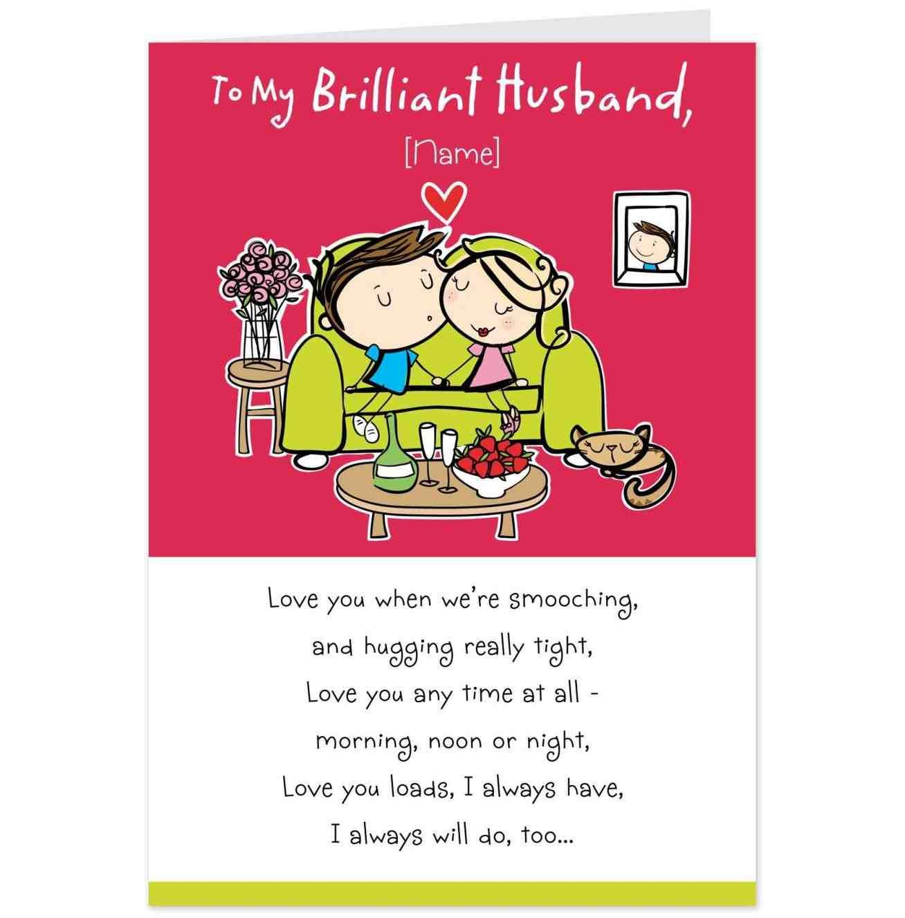 funny birthday card for boyfriend husband you are my very