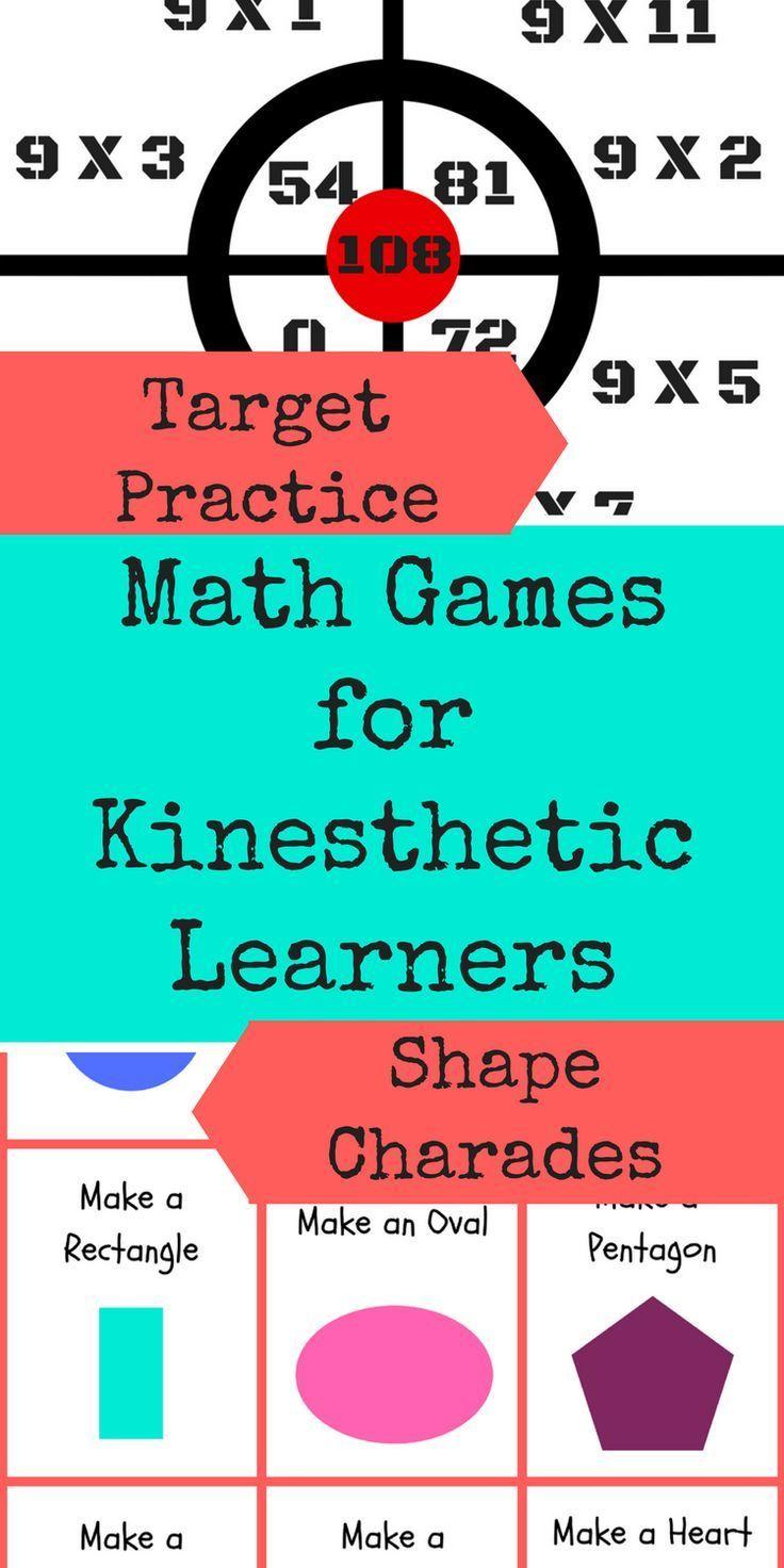 Math Games for Kinesthetic Learners | Homeschool Math Ideas ...