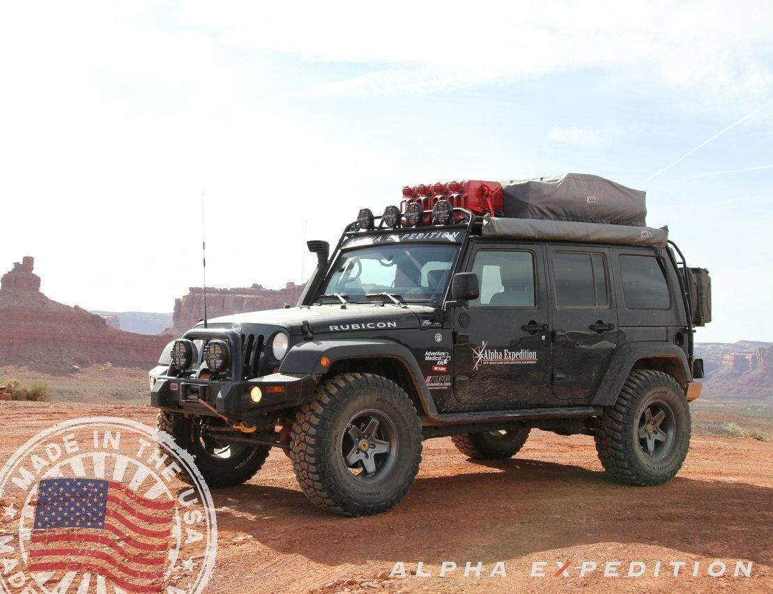 Alpha expedition gobi jeep jk wrangler 4 door ranger roof rack 1 595 00 http