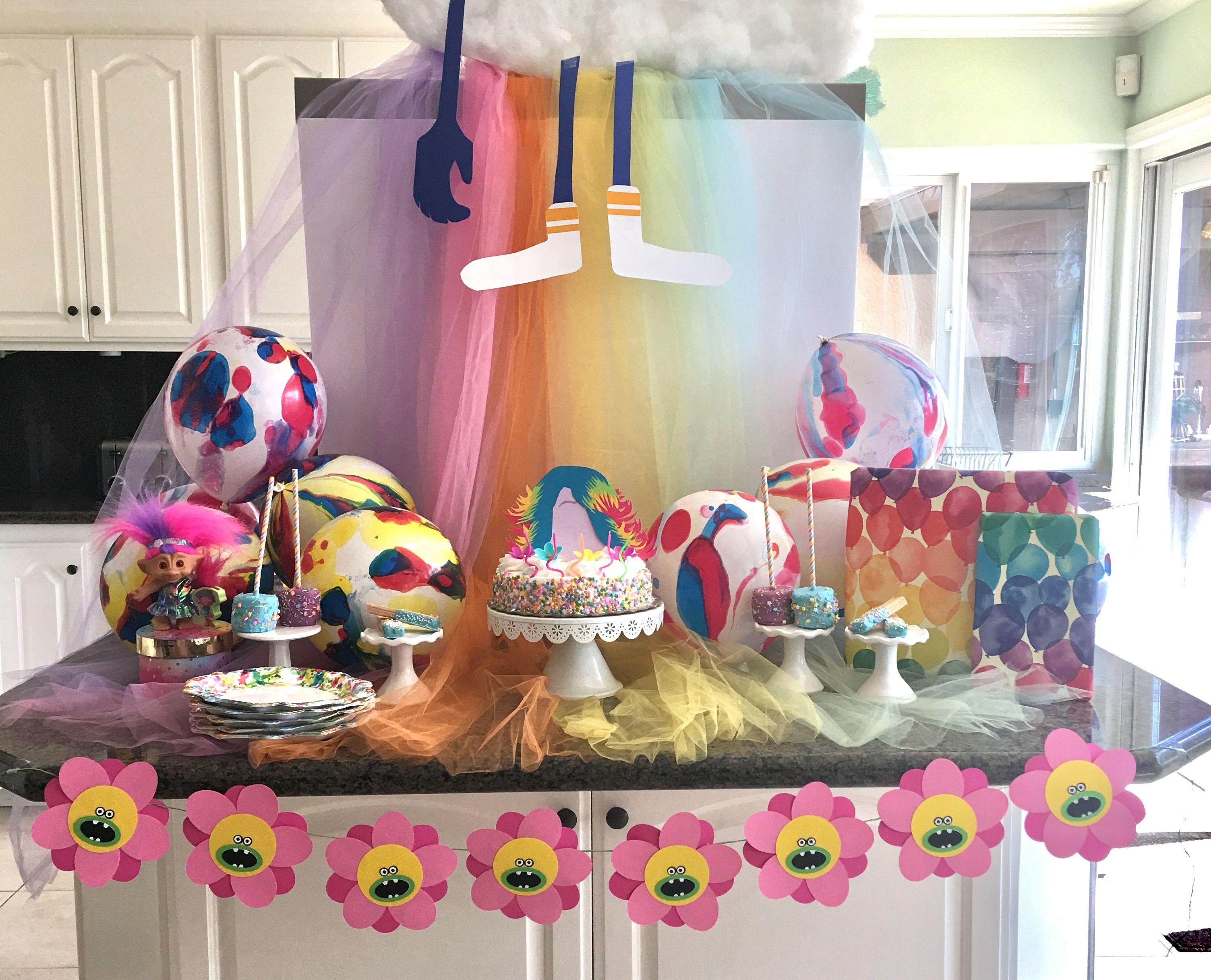 Trolls Party Ideas Trolls Birthday Party Trolls
