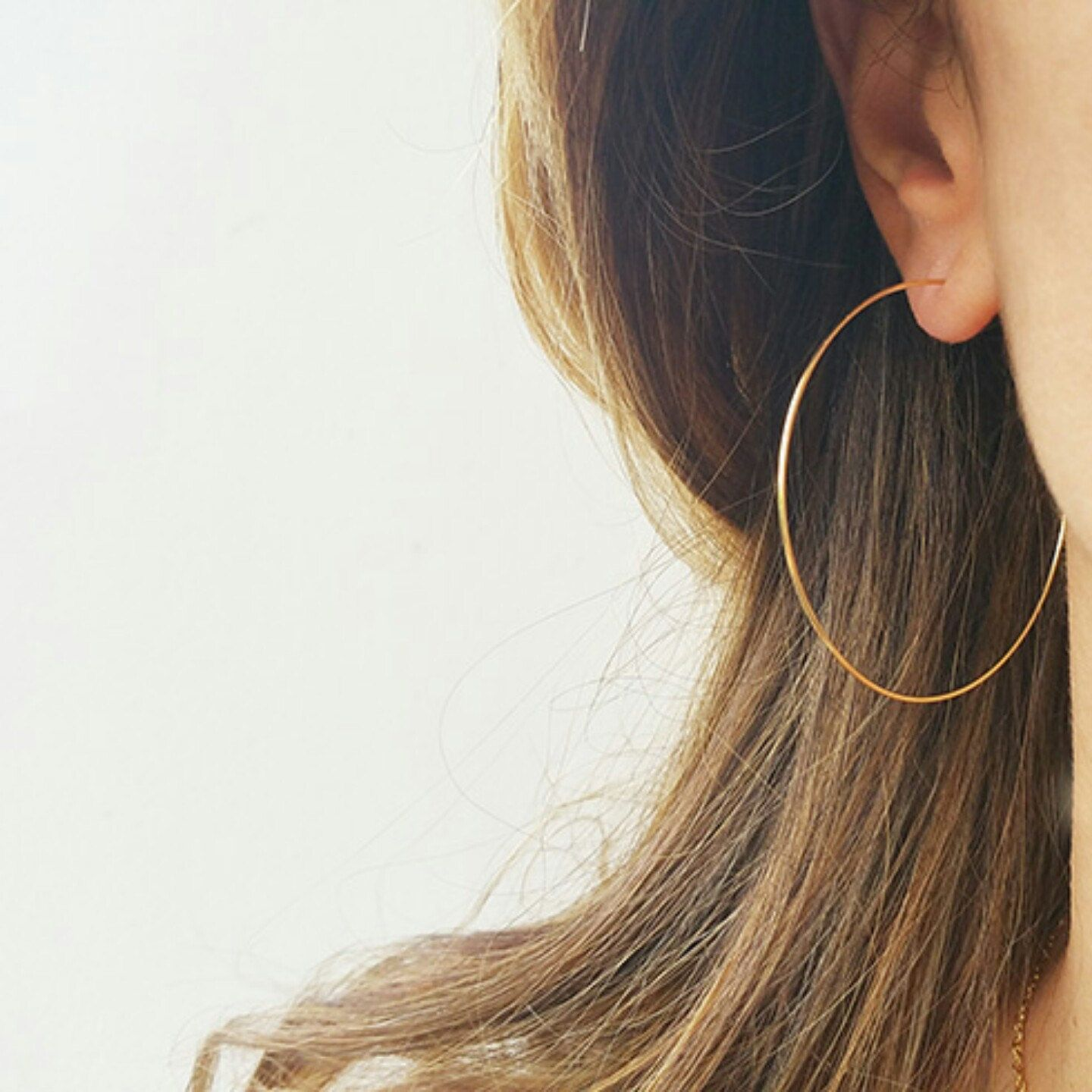 And Clic Hoops Earrings