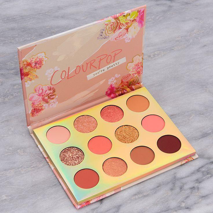 12-Pan Makeup Palette Sweet Talk -   8 makeup Aesthetic palette ideas