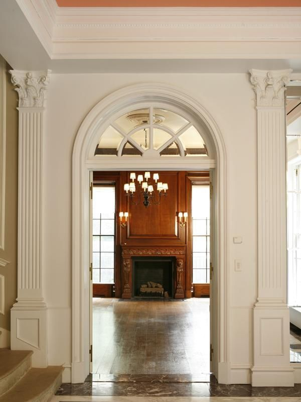Federal Style Mansion Photos Luxist In 2019 Molding Ceiling Furniture Styles Modern Mansion