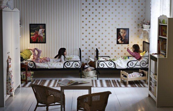 Ikea Idee Per La Camera Da Letto : Camerette per bambini: la cameretta ikea con mobili minnen e hensvik