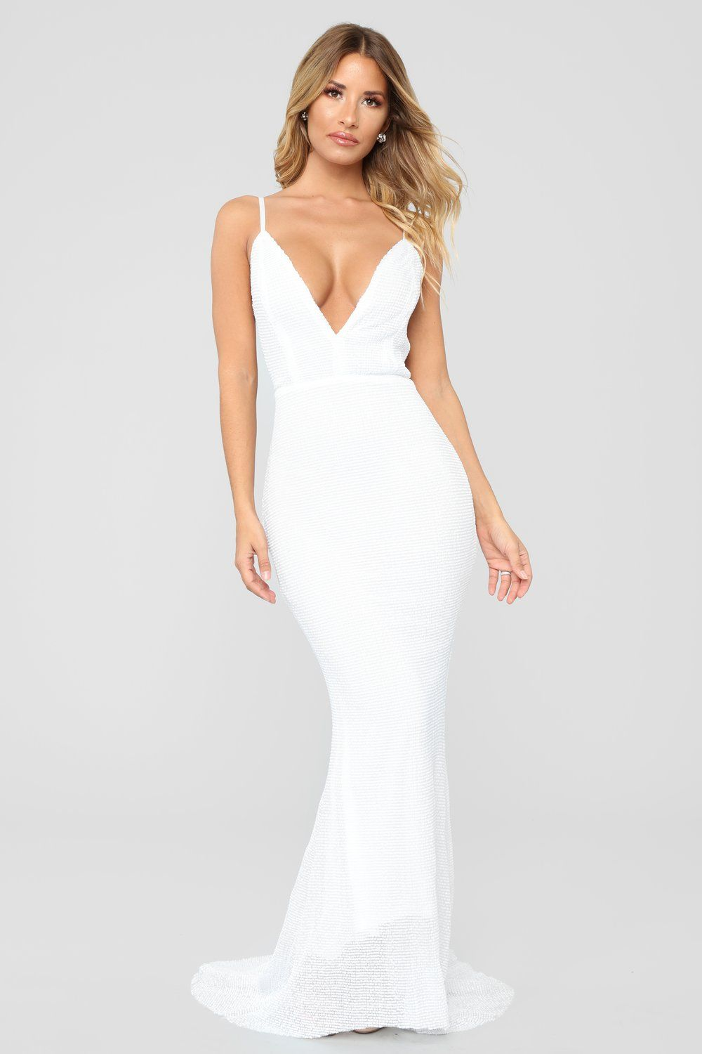 513f16aa6064 Sparkling Champagne Sequin Dress - White in 2019