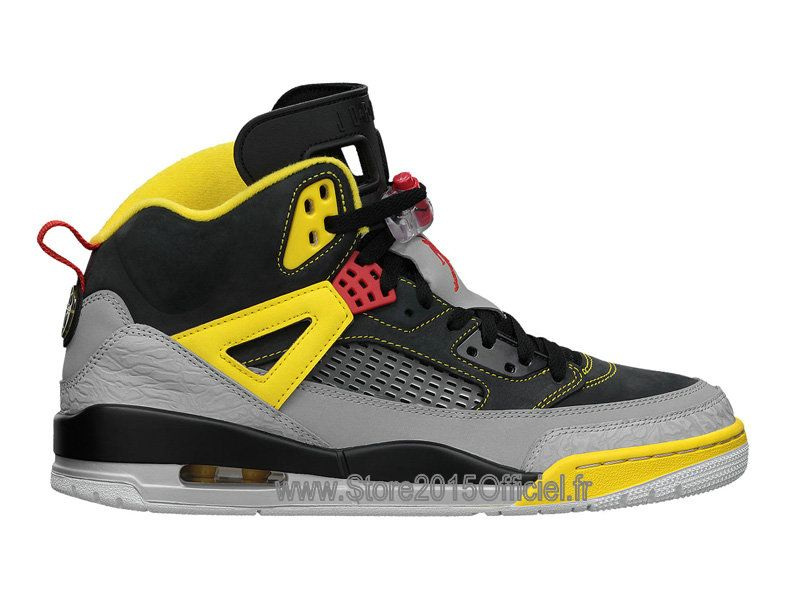 finest selection 736cc e95b4 Jordan Spizike  Nike Air Jordan Basket-ball Officiel Chaussure Pas Cher  Pour Homme Noir Jaune Rouge 315371-050-1503301308-Store Basket Nike Air  Jordan 2015 ...