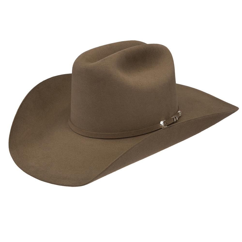 Resistol 40x Arena Dunn 4 1 4in Brim Open Crown Felt Cowboy Hat In 2021 Felt Cowboy Hats Cowboy Hats Cowboy
