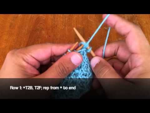 How To Knit The Ray Of Honey Cable Stitch Link To Youtube From
