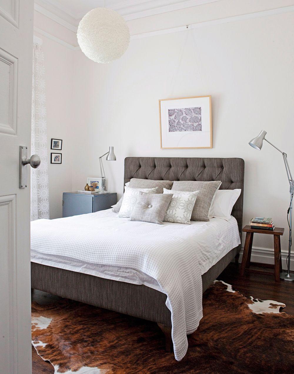 Die 10 inspirierendsten Schlafzimmer | Pinterest | Kuhfell ...