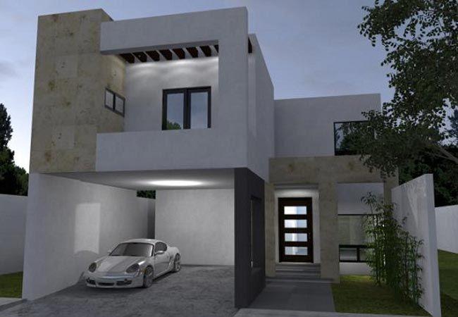 Fachadas de casas modernas de dos pisos fafachadas for Fachadas de casas modernas de dos pisos