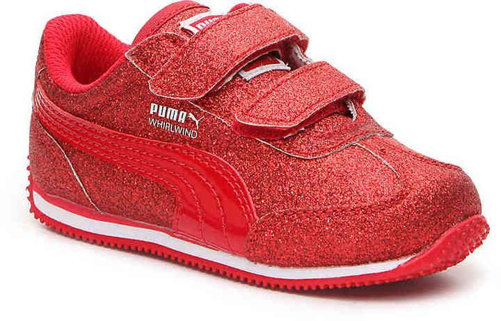 2a2f7c92e068 Puma Girls Whirlwind Glitz Toddler   Youth Sneaker