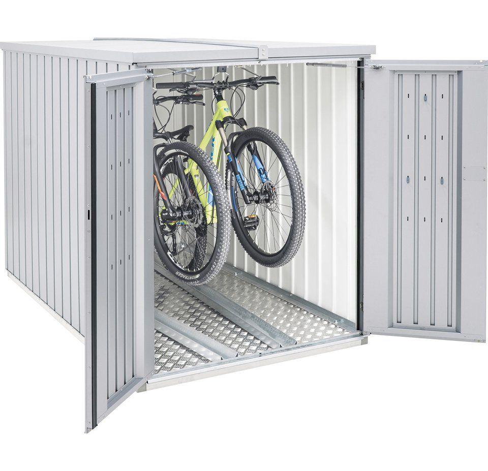 Biohort Fahrrad Hangeschiene Fur Minigarage Mini Garage Biohort Fahrradgarage