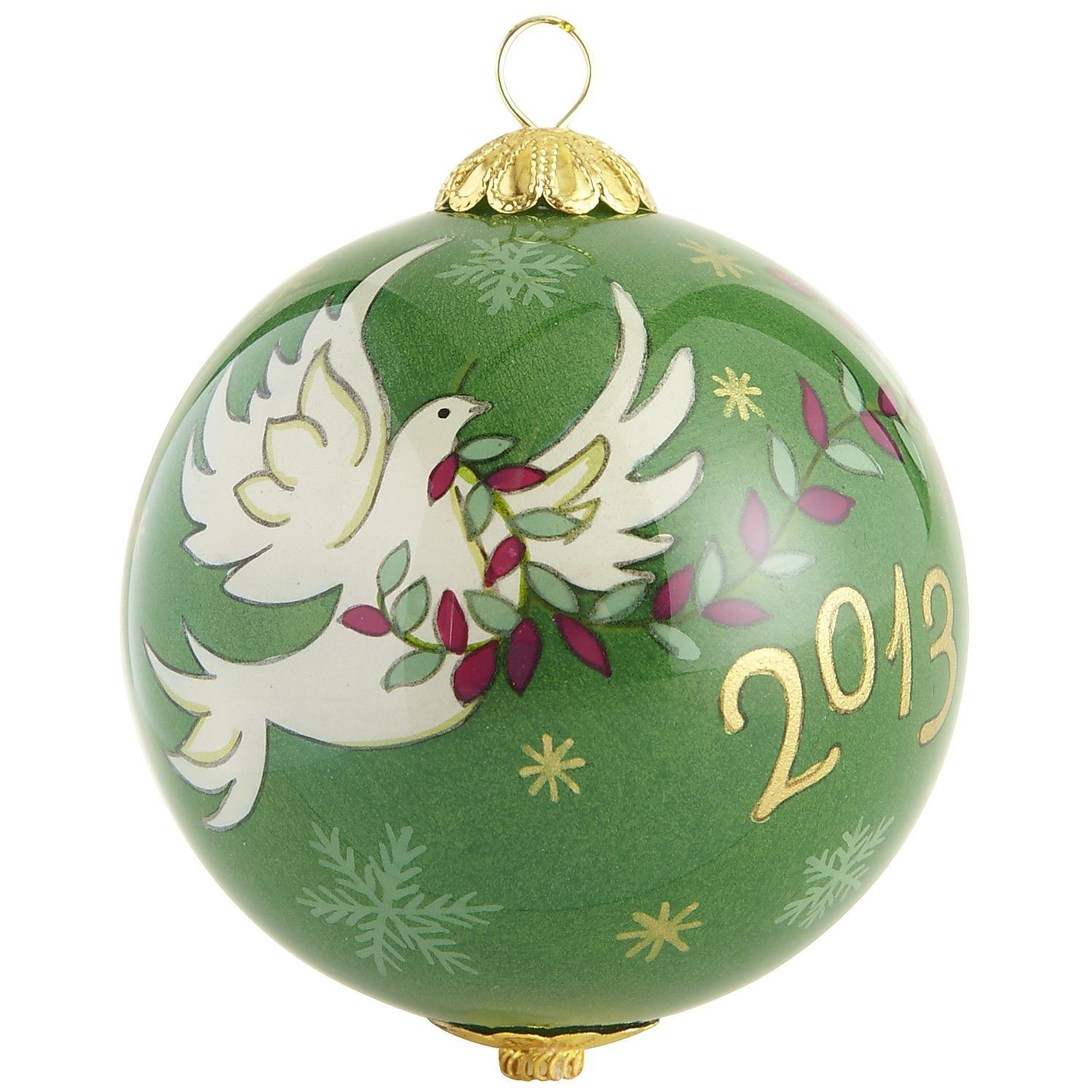 Li Bien Dove Ornament (With images) | Glass ornaments ...