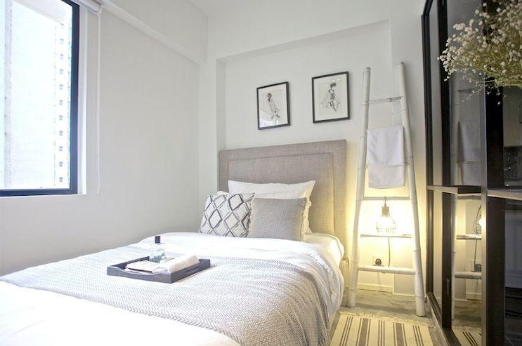 7 monoambientes muy peque os de 15 a 19 metros bedroom for Decoracion de casas de 30 metros cuadrados